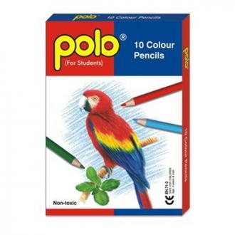 Polo - 10 Colour Pencils
