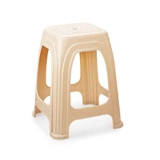 Pleasant Cello Luna 532X410X410 Mm Cream Stool Caraccident5 Cool Chair Designs And Ideas Caraccident5Info