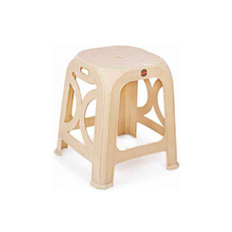 Fabulous Cello Sumo 490X430X430 Mm Cream Stool Caraccident5 Cool Chair Designs And Ideas Caraccident5Info