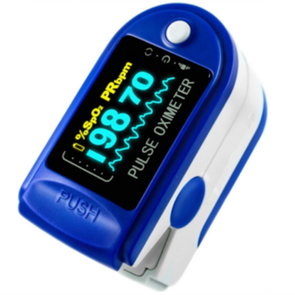 EGK Finger Type Pulse Oximeter s designed to determine the SpO2 (blood oxygen saturation levels) and pulse rate, while displaying it conveniently on a digital LED display. The device comes with a battery indicator and features automatic power off facility.  Uses:  It is primarily used to determine the SpO2 (blood oxygen saturation levels) and pulse rate.  Directions For Use:  Use as per requirement or as directed by the physician.  Safety Information:  Read the label carefully before use.  Store in a cool dry place away from direct sunlight.  Keep out of reach of the children.  Avoid physical damage.  Features:  Comprises of low voltage indicator. It is small in volume, light in weight, and convenient to carry. Low Power Consumption. Reliable Accurate Easy to Operate. High Brightness OLED Screen Displays SpO, Pulse Rate, Pulse Bar & Wave.