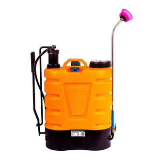 ISI Marked Sprayer. Light Weight. Both side Hand Operation. Attractive Tank Design. Continuous Mist Spray. Comfortable and adjustable Cotton Belt.