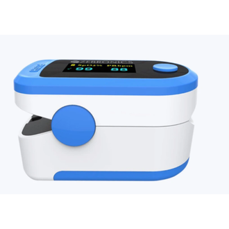 The Zebronics - 25 to 250 BPM Fingertip Pulse Oximeter is a sturdy, portable device intended to monitor a person's oxygen saturation levels. Moreover, any user can also check other measurements such as pulse rate and perfusion index with the Pulse Oximeter. The 25 to 250 BPM Fingertip Pulse Oximeter is a reliable device that operates on batteries, making it suitable for carrying when travelling. Moreover, the Oximeter produces accurate results with minimal risk of errors in all environments. The Fingertip Pulse Oximeter has a simple clip-on design that allows users to apply the device on their finger without any help. The Oximeter can be activated by pressing the power button. Once the device is on, the user can place a finger on the device's sensor to check measurements in real-time.