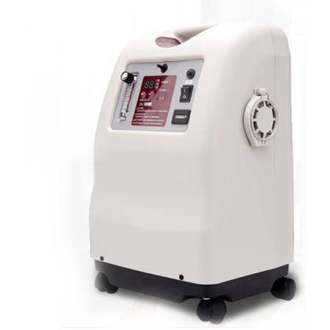 The Jumao - 5 liters Oxygen Concentrator for Home Use is a high-purity Oxygen Concentrator for domestic use. The 5 liters Oxygen Concentrator for Home Use is a compact device with a wheeled base, making it an easily portable Concentrator. The Oxygen Concentrator for Home Use creates low noise, making it suitable for hospitals and clinics. The device operates on a direct power supply of 230 V AC. Hence, the Jumao - 5 liters Oxygen Concentrator for Home Use can operate for extended periods as long as it is connected to the power source. Additionally, the Jumao Oxygen Concentrator is provided with an alarm and auto shutdown safety features.