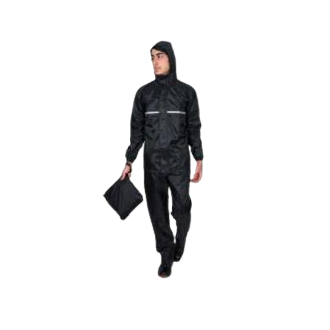 Shirt Paints with Hood.  Superior polyester Fabric with PVC coatings.  Waterproof.  360 degree reflective Stripe on jackets.  High Quality zipper at the centers with double flap Protection.